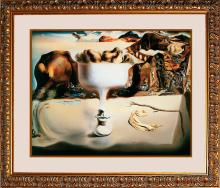 Salvador Dali on Canvas -Apparition of Face Limited Edition
