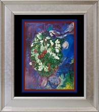Marc Chagall Lithograph from 1974
