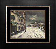 Vlaminck color plate lithograph