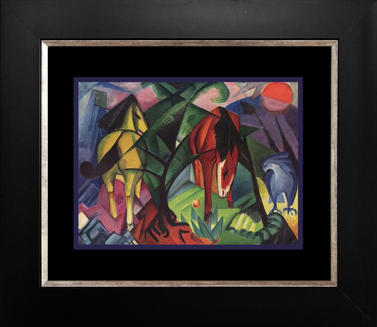 Franz Marc color plate lithograph