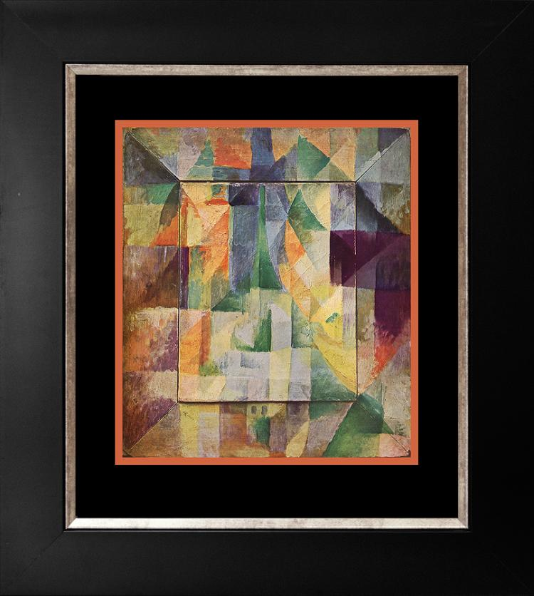 R. Delaunay color Plate lithograph