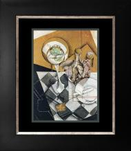 Juan Gris Color plate lithograph