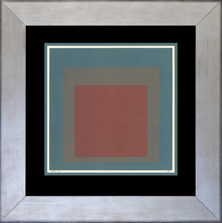 Albers Color Plate lithograph