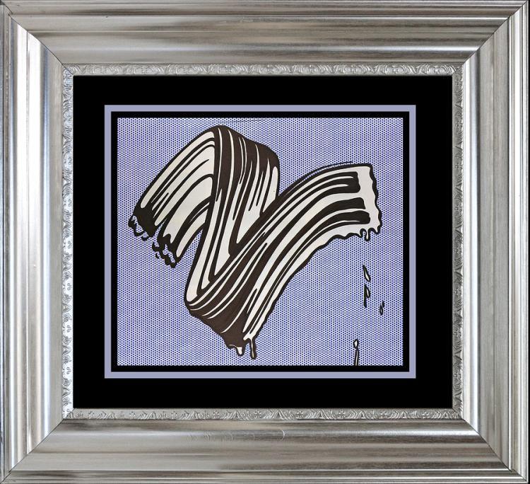 Roy Lichtenstein Lithograph from 1965