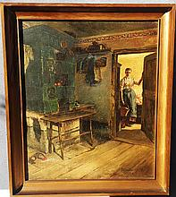 Wilhelm Ludwig Claudius Original Oil on canvas  Golberode