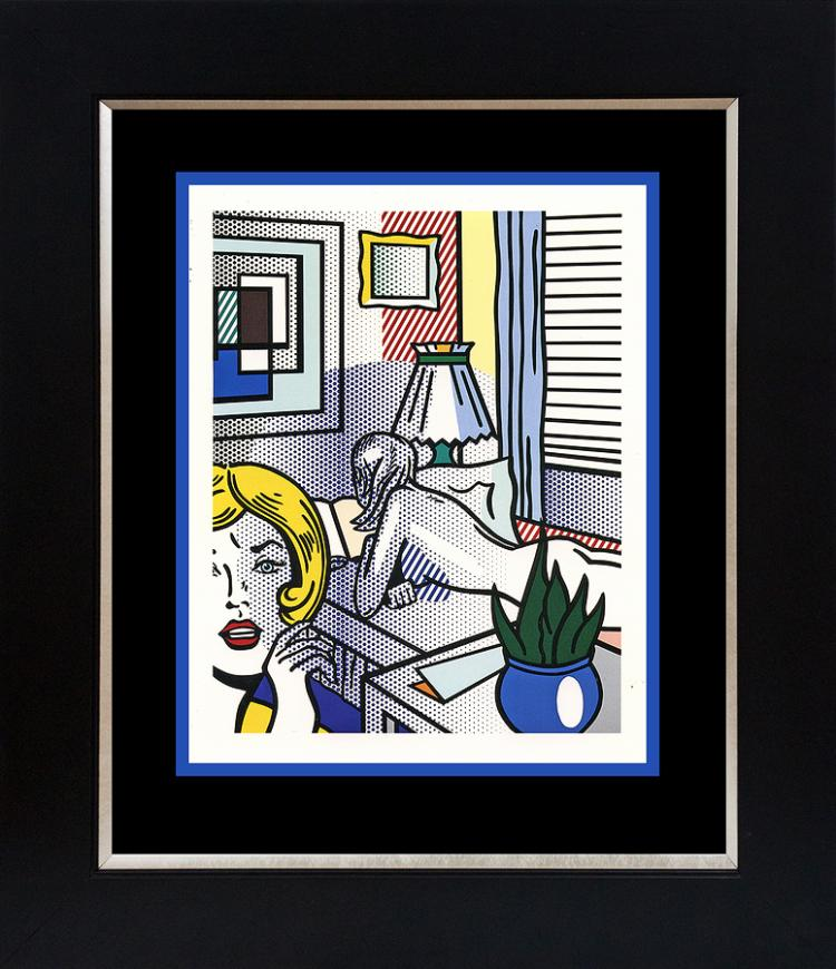 Roy Lichtenstein Lithograph from 1965