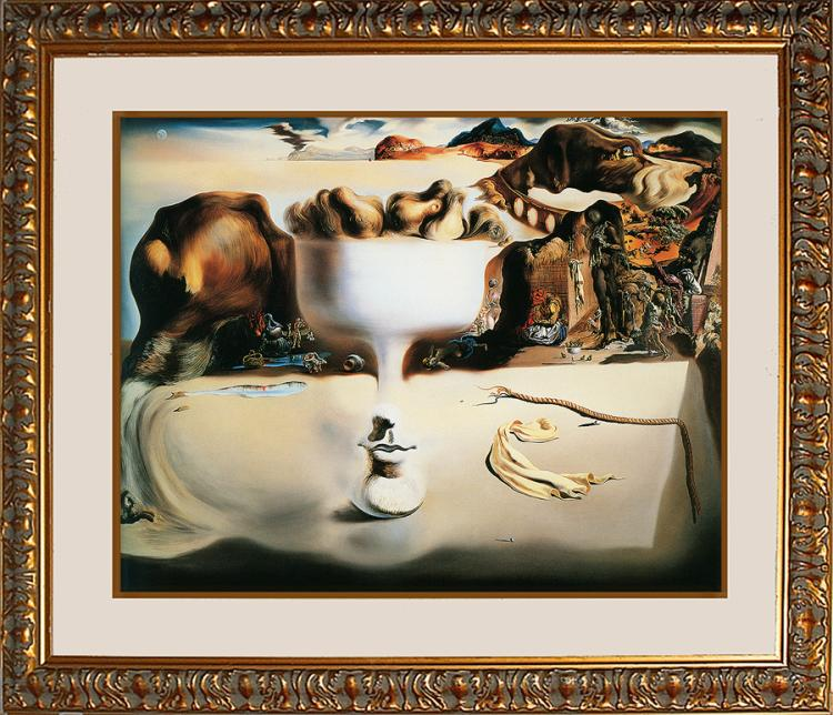 Salvador Dali-Ltd Ed on Canvas -Apparition of Face