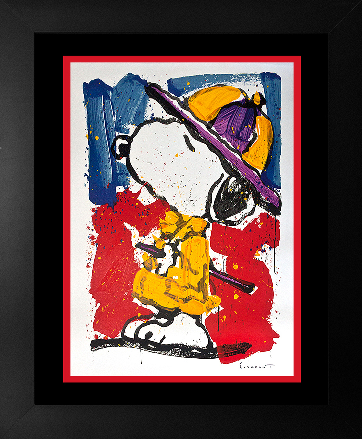 Original Lithograph by Tom Everhart Snoopy Prada Puss Limited Edition