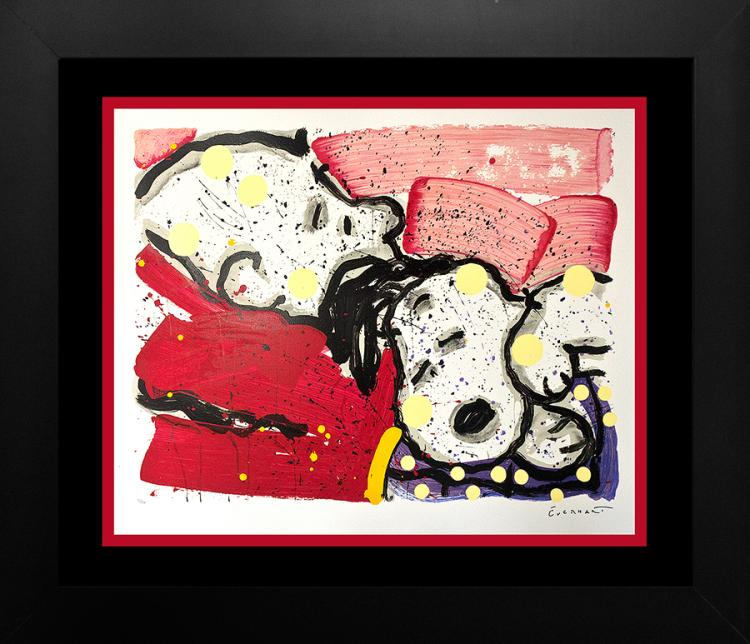 Original Lithograph by Tom Everhart Snoopy Limited Edition Mello Jello 2000