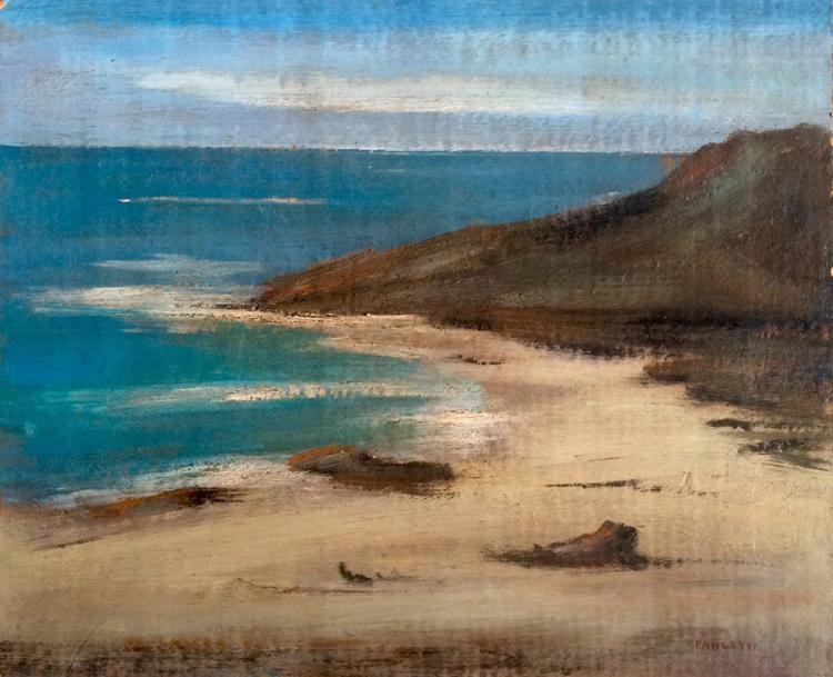 Jose Pancetti Original oil on wood from 1940 46 x 38 cm