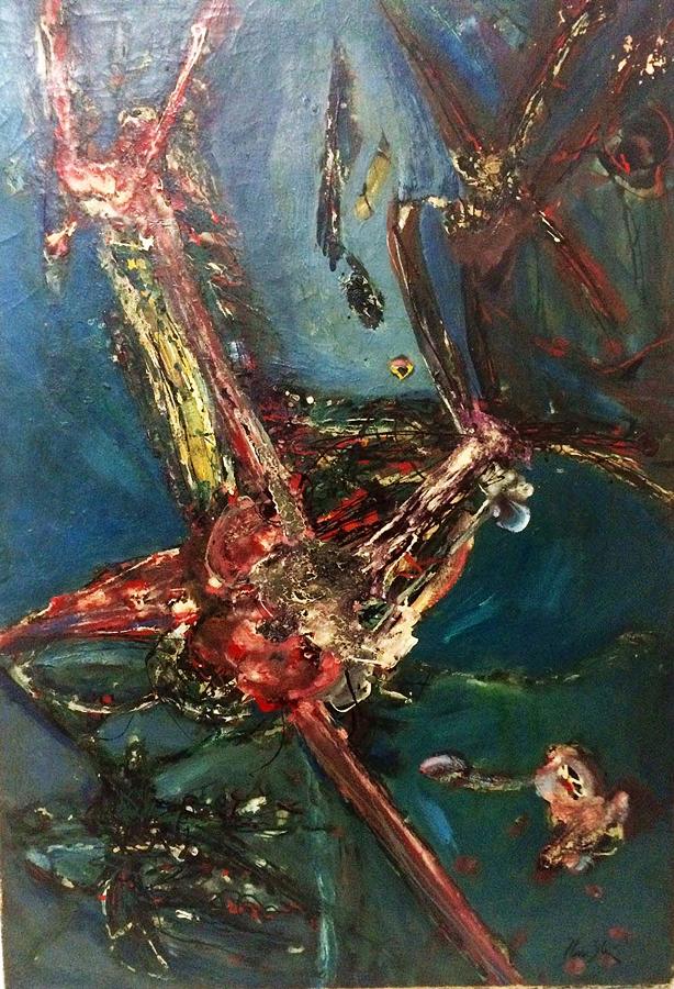 Flavio Shiro Tanaka Original Oil Painting from 1946