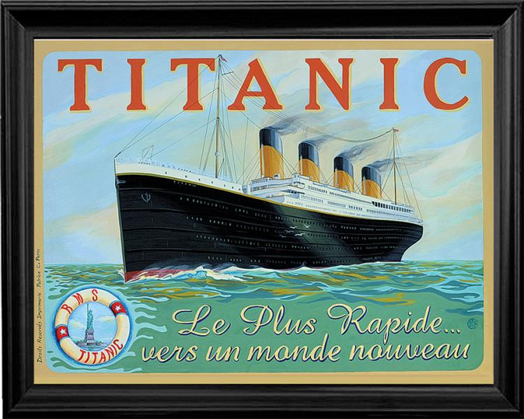 The Titanic Limited Edition Giclee
