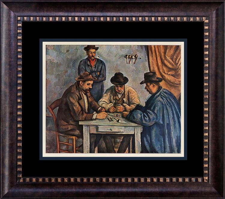 Cezanne Color Plate Lithograph
