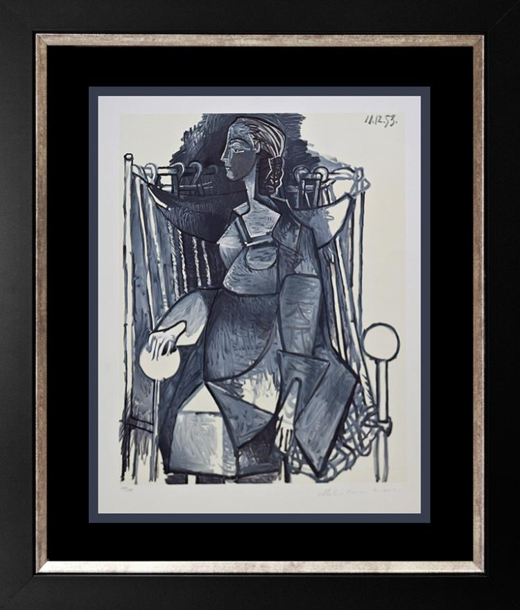 Pablo Picasso Limited Edition Lithograph, Marina Picasso Edition