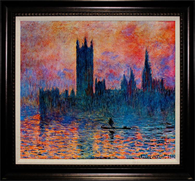 Claude Monet Limited Edition Parliament Buildings