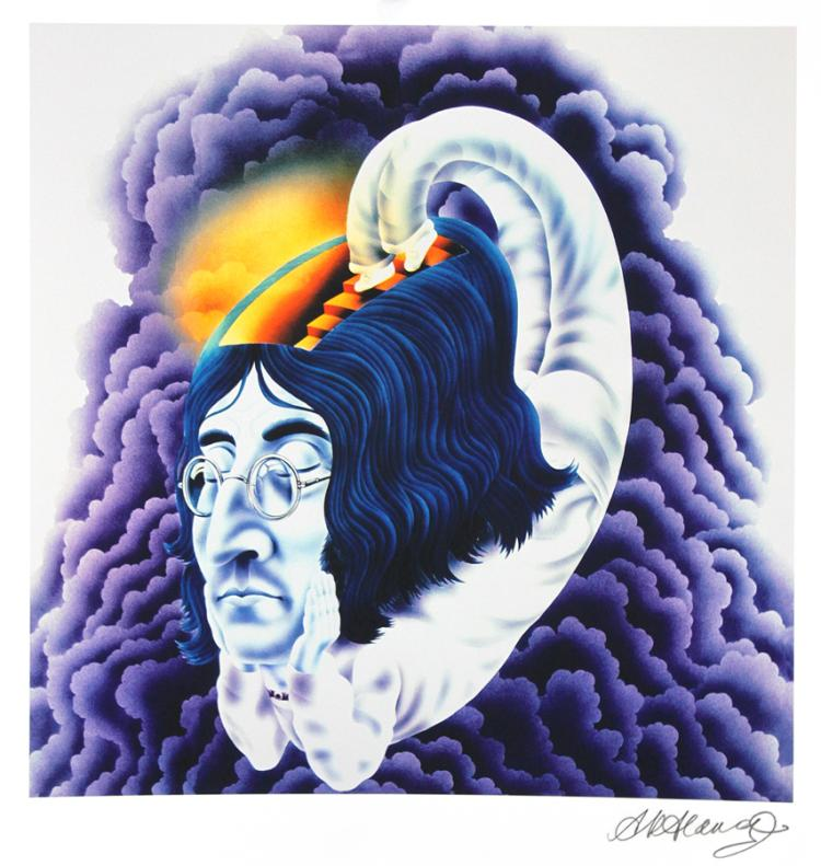 Alan Aldridge Artist Proof John Lennon Floating