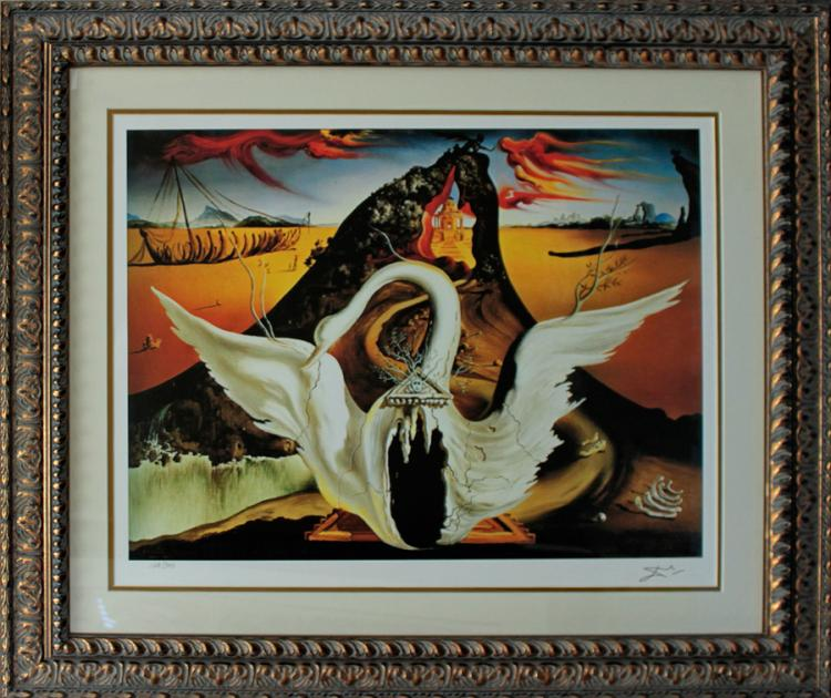 Salvador Dali Bacchanale Limited Edition