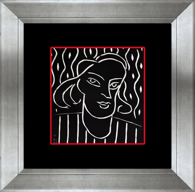 Henri Matisse Linocut 45 years ago