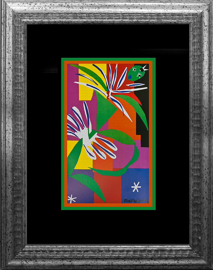 Henri Matisse Lithograph from the Verve Collection 1973