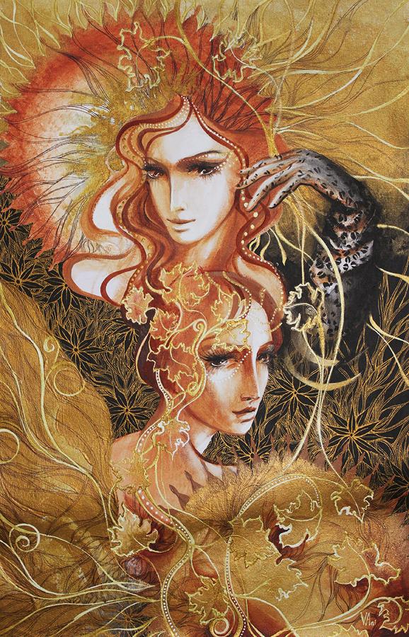 Hand Signed Original Oil on Canvas by Anisa Vilner