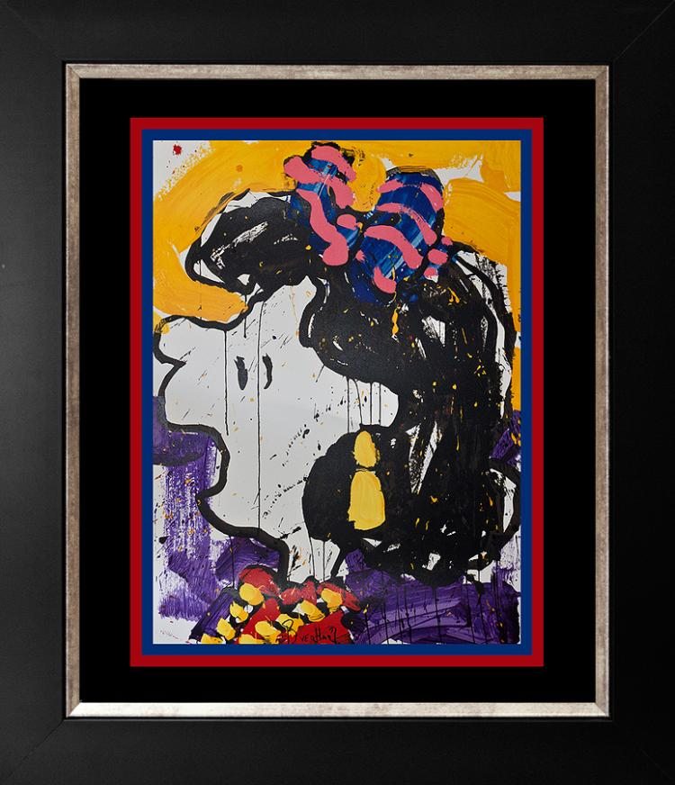 Tom Everhart Original Lithograph Glam Slam