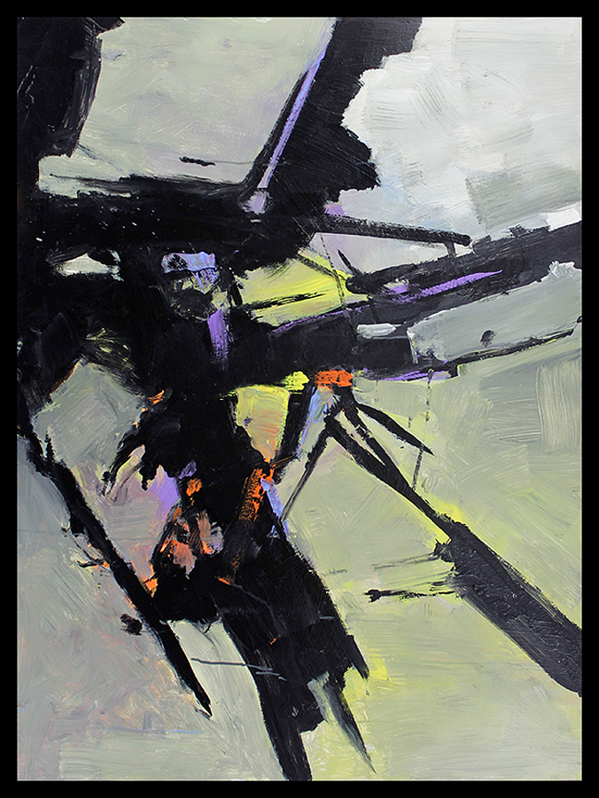 Michael Schofield Original Abstract on board 36 x 48 image size