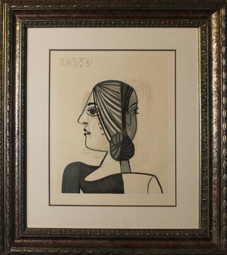 Pablo Picasso Limited Edition Lithograph Marina Picasso Edition