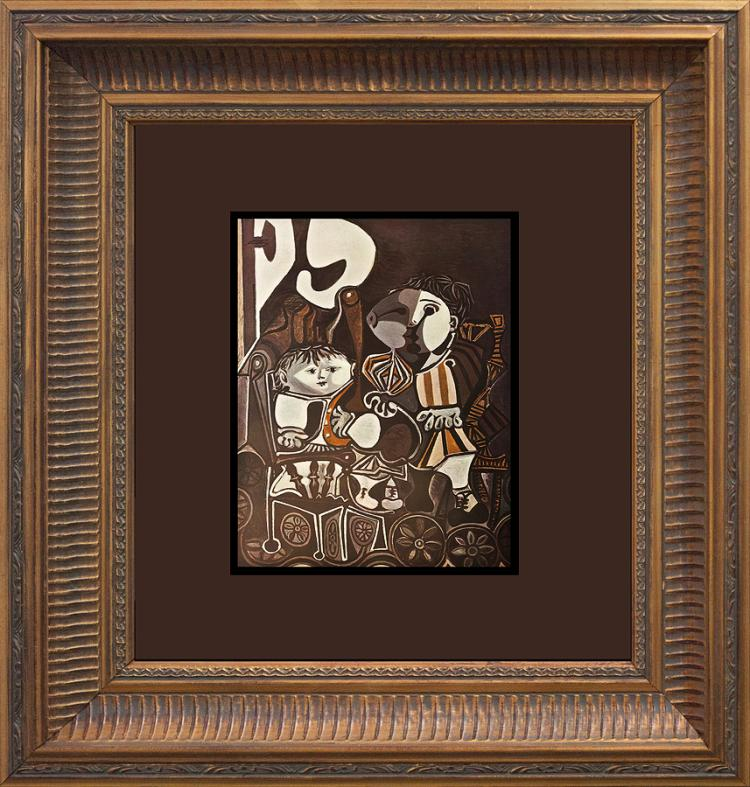1959 Pablo Picasso Lithograph for the Verve Collection