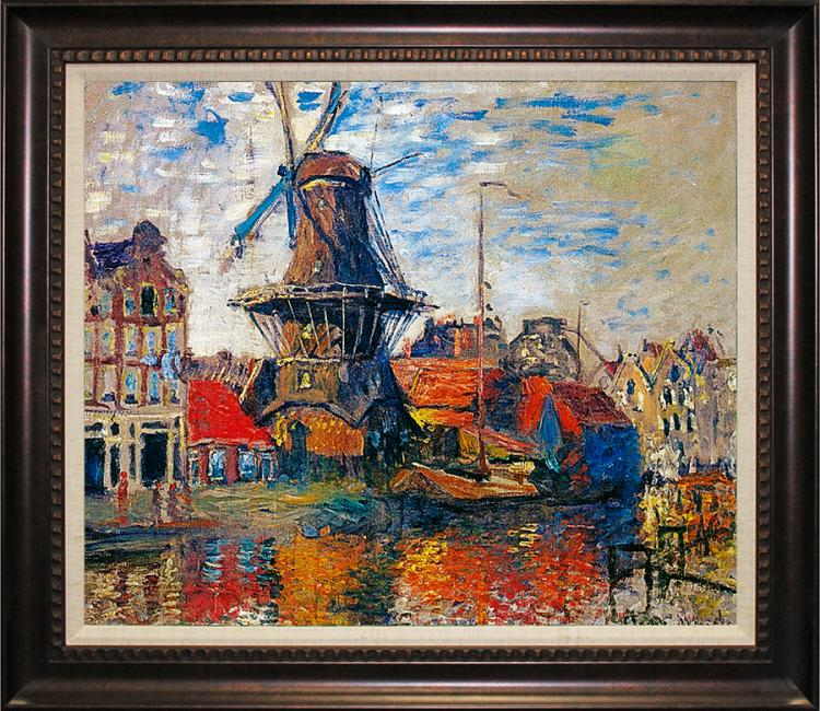 Claude Monet The Windmill