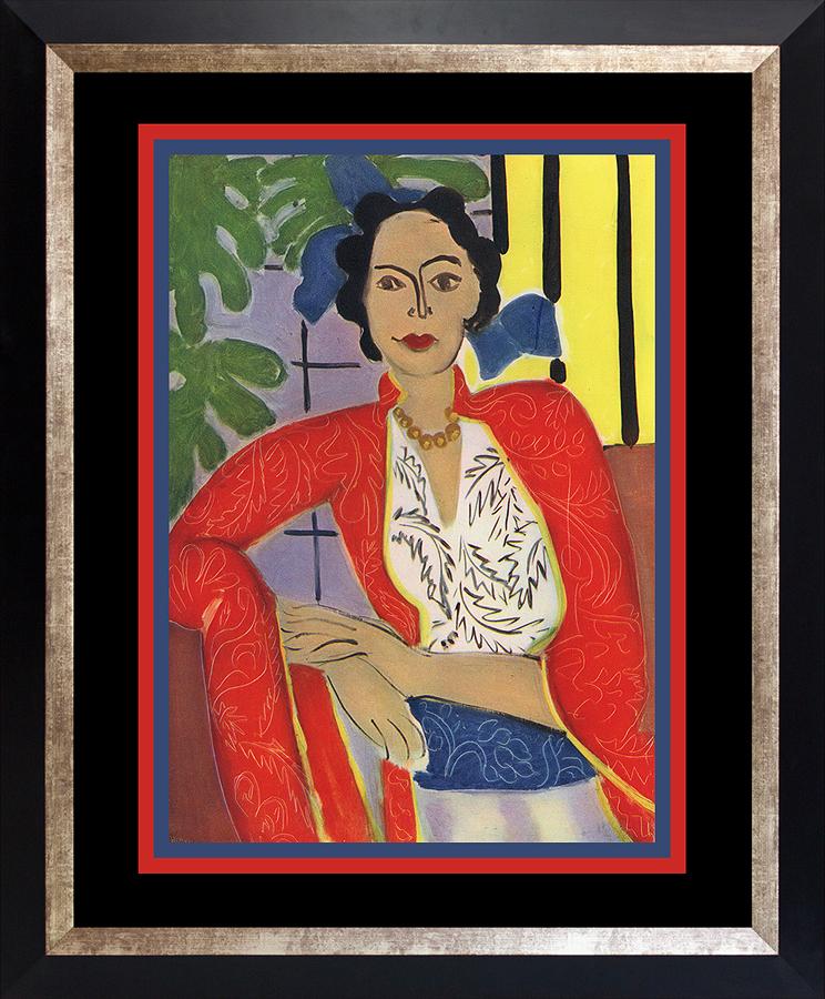 Henri Matisse 1948 Lithograph