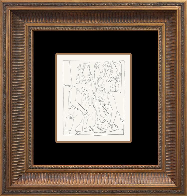 Pablo Picasso Original Lithograph from 1970