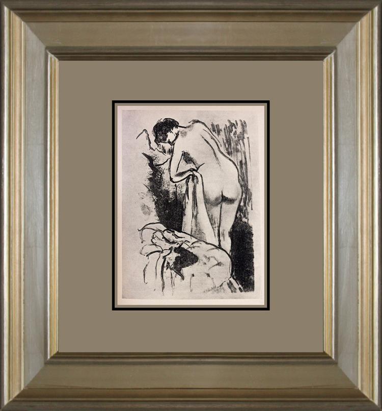 Edgar Degas Lithograph from 1923
