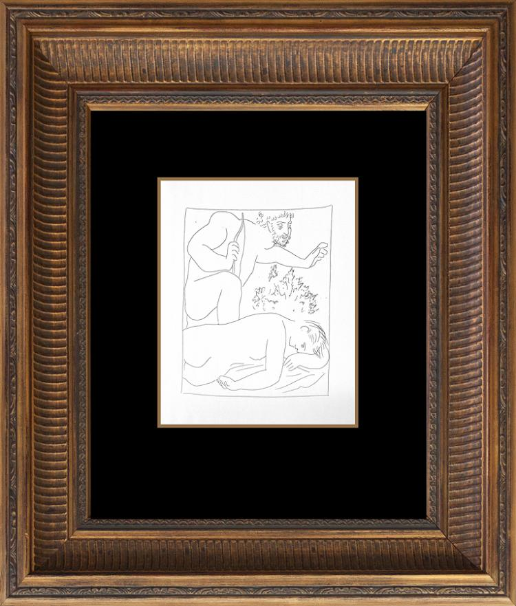 Picasso Lithograph Metamorphosis Ovide  1971 Portfolio