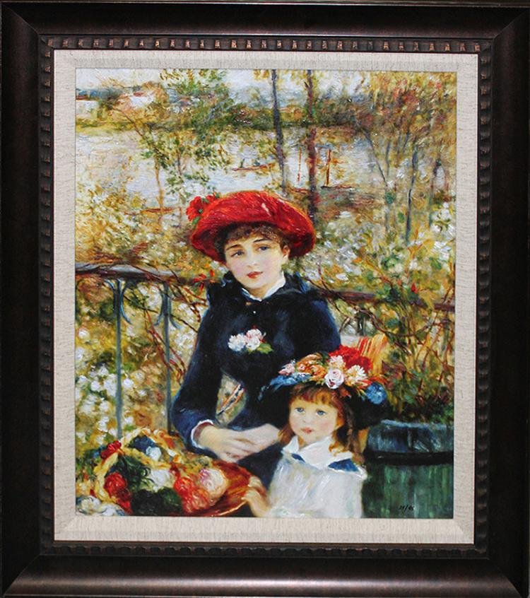 After Pierre Renoir- Limited Edition Giclee-The Two Sisters