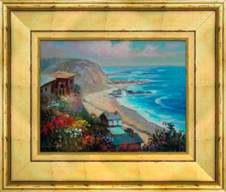 Rafael Original Oil-Cliffside