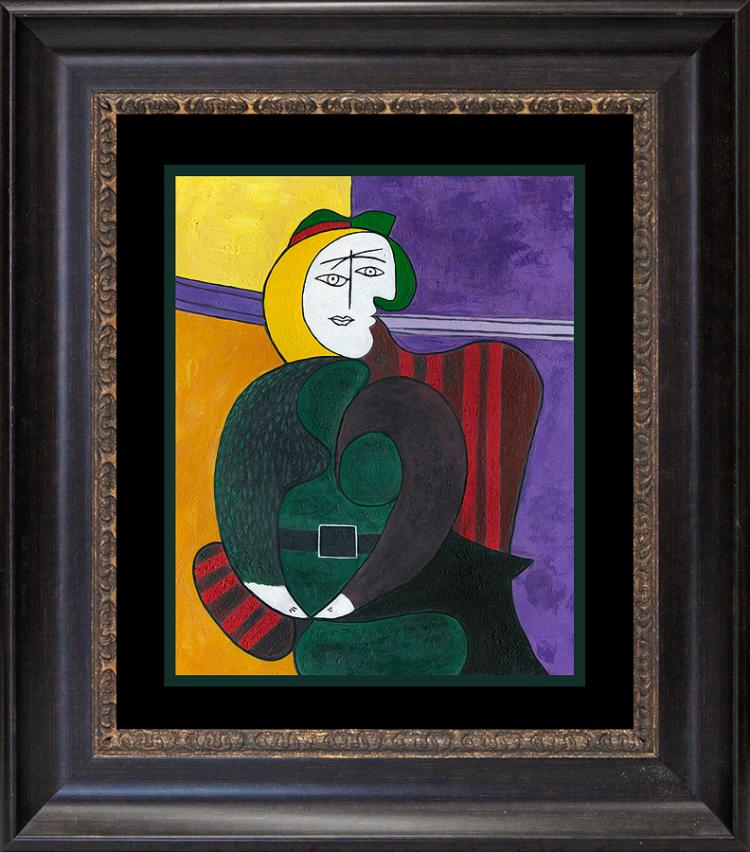 Woman in the Red Armchair  Pablo Picasso Collection Domaine Limited Ediition
