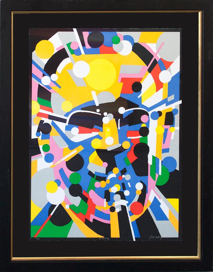 Waldemar Swierzy Fine Art Original Lithograph Limited Edition Benny Goodman