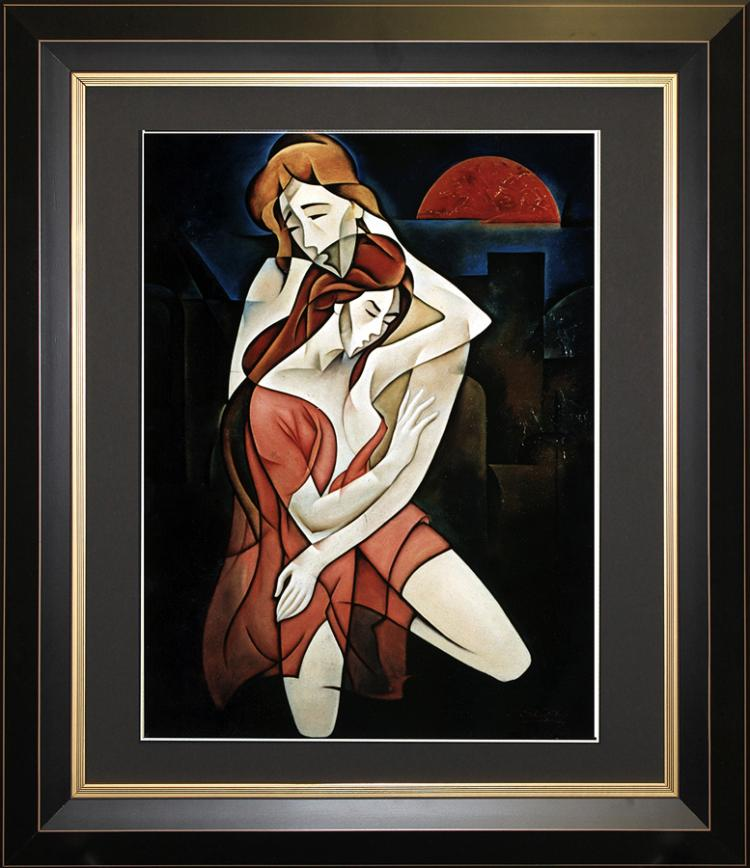 Zinovy Shersher - Only You Limited Edition Serigraph
