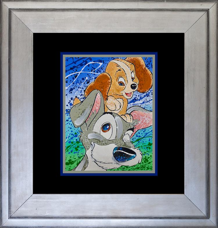 Mixed Media original by Willardson Disney Hair of the Dog
