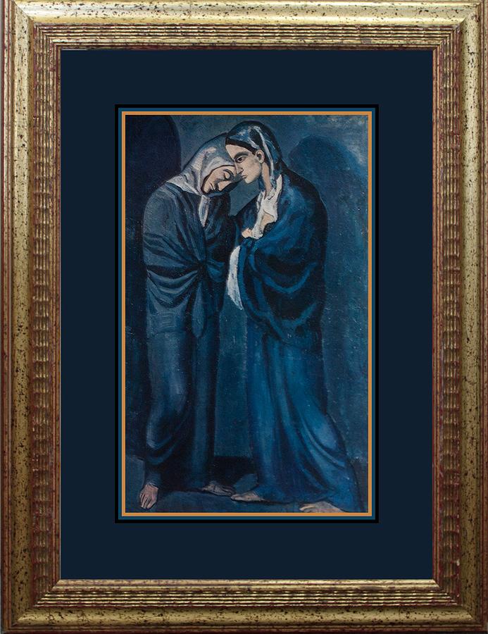 Hermitage Original Lithograph Pablo Picasso Blue Period