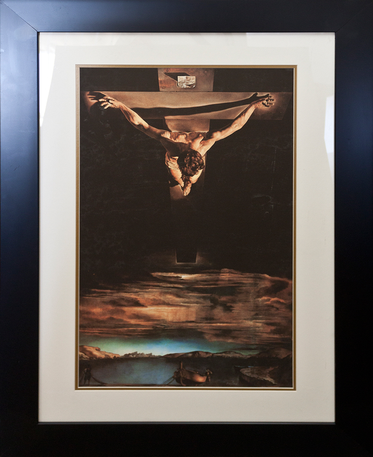 Salvador Dali Christ St John on the Cross Limited Edition
