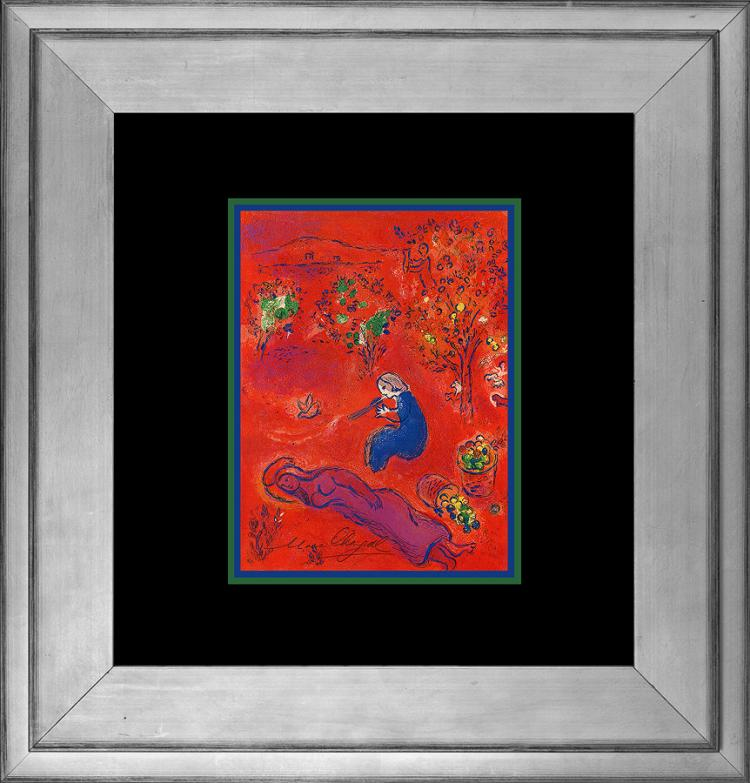 Marc Chagall Hand signed Lithograph from 1977