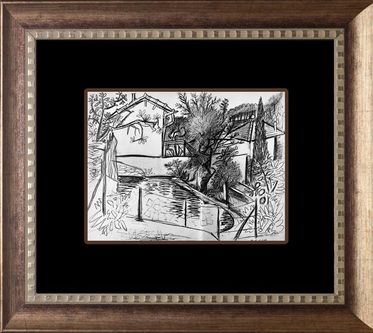 Pablo Picasso Lithograph 1951