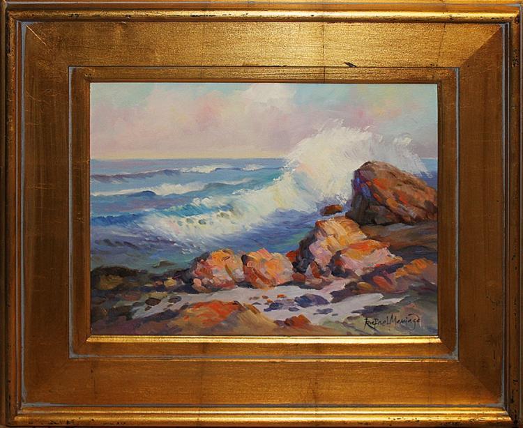 Rafael Original Oil-Battling Surf