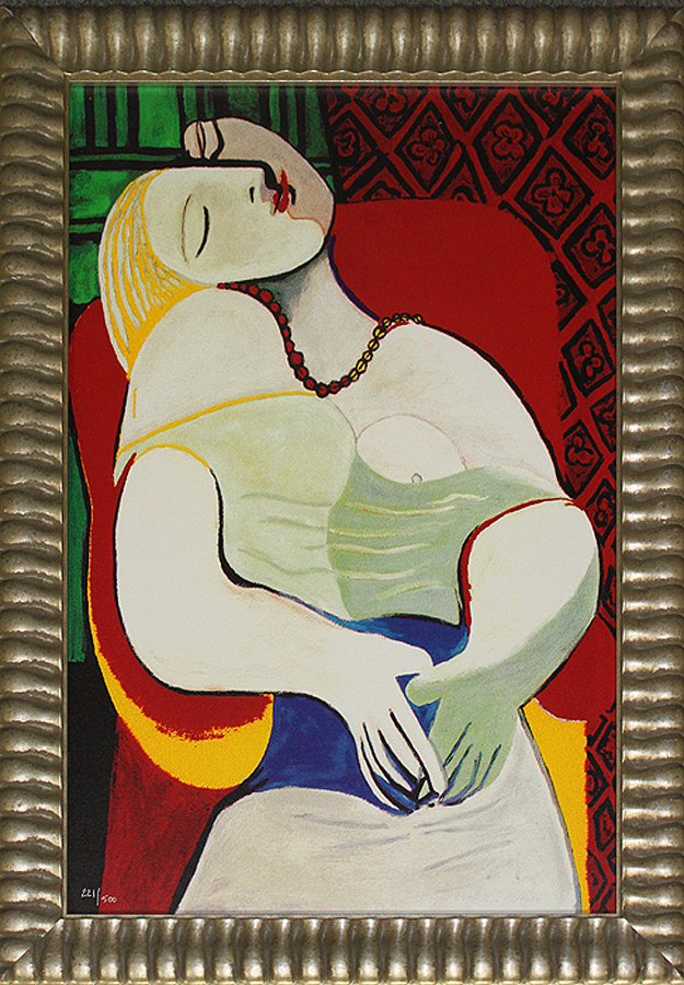 Limited Edition Lithograph-The Dream Pablo Picasso