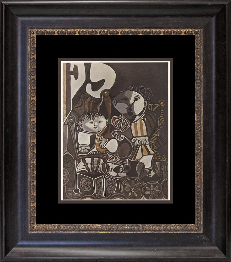 Picasso lithograph from the  Verve Collection