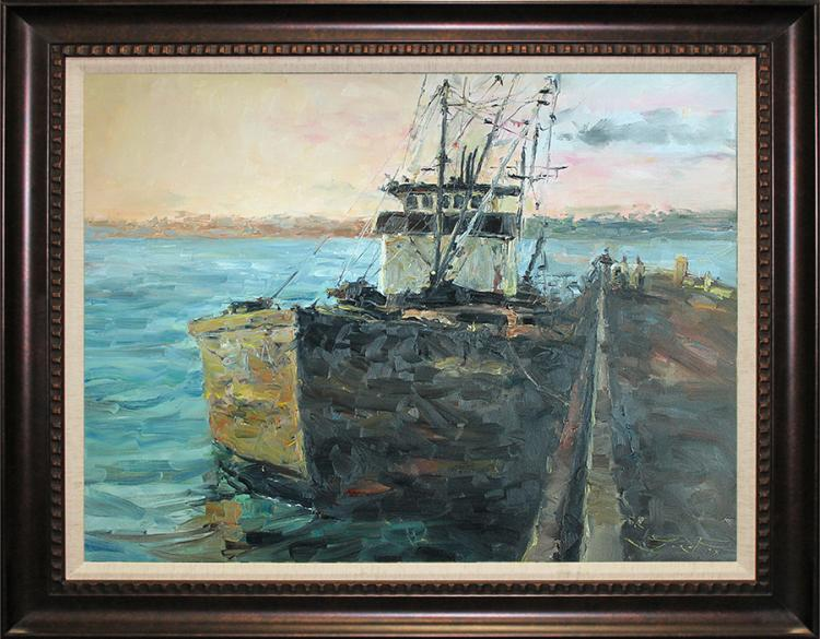 Original Oil on canvas by Jorn Fox