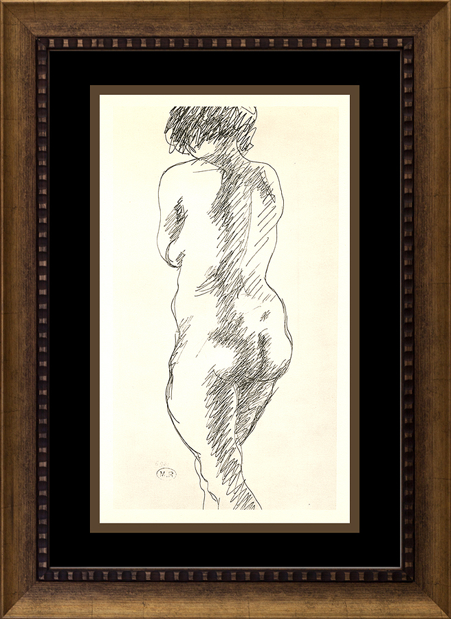 Henry Moore lithograph from 1968