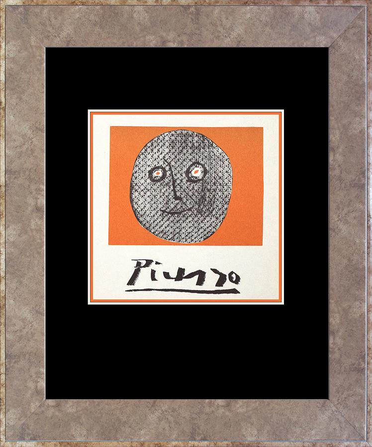 Pablo Picasso Lithograph circa 1964