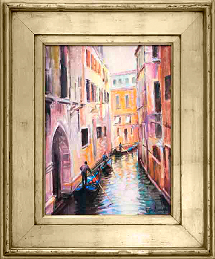 Rafael-Original Oil-Venice View